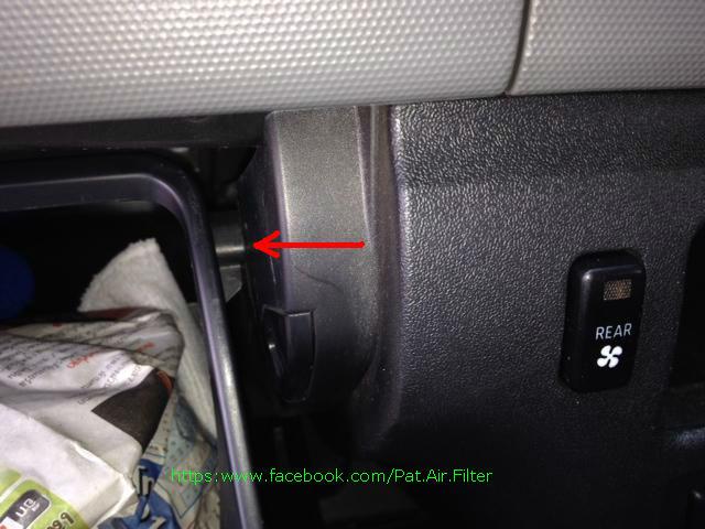 +++กรองแอร์ Toyota  Commuter(รถตู้) เปลี่ยนเองง่ายนิดเดียว+++